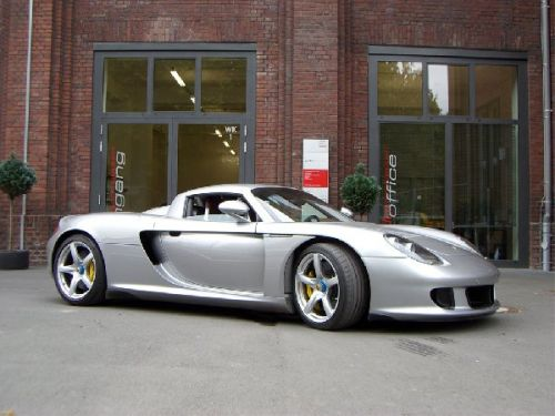 9th: Porsche Carrera GT