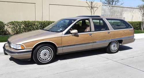 1991 Chevrolet Caprice Wagon/Buick Roadmaster/Oldsmobile Custom Cruiser