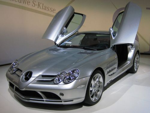 7th: Mercedes-Benz SLR McLaren