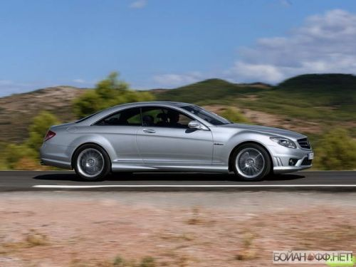 Mercedes-Benz CL 63 AMG (2007) (10 фото)
