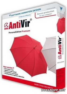 Антивирус Avira AntiVir Premium Security Suite Russian